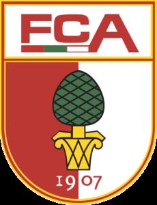 Die Abbildung zeigt das Logo des FC Augsburgs