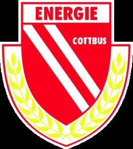 Die Abbildung zeigt das Logo vom FC Energie Cottbus