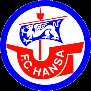 Die Abbildung zeigt das Logo des FC Hansa Rostock