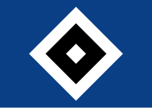 Die Abbildung zeigt das Logo des Hamburger Sportvereins (HSV)