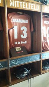 Separé beim FC St. Pauli